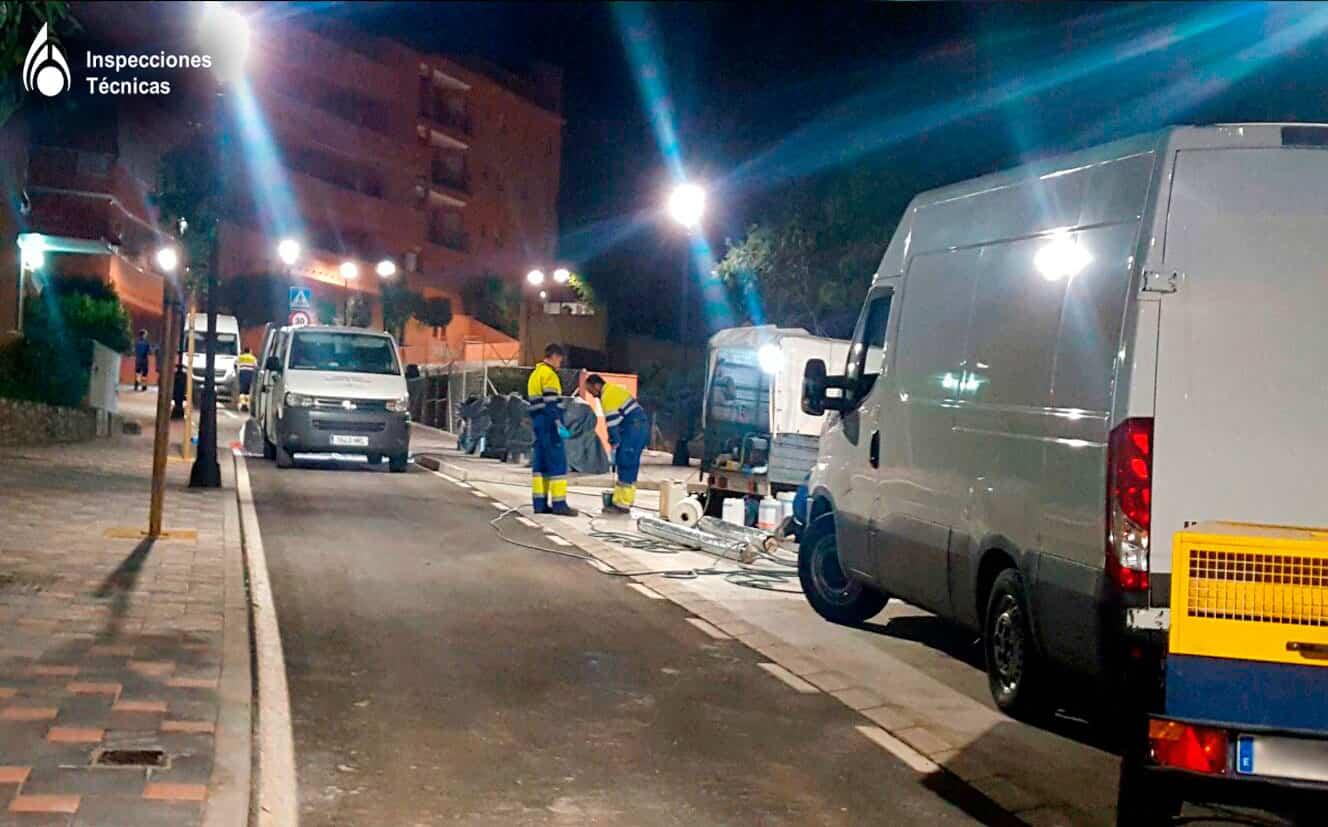 Rehabilitación de tuberías con packer Fuengirola